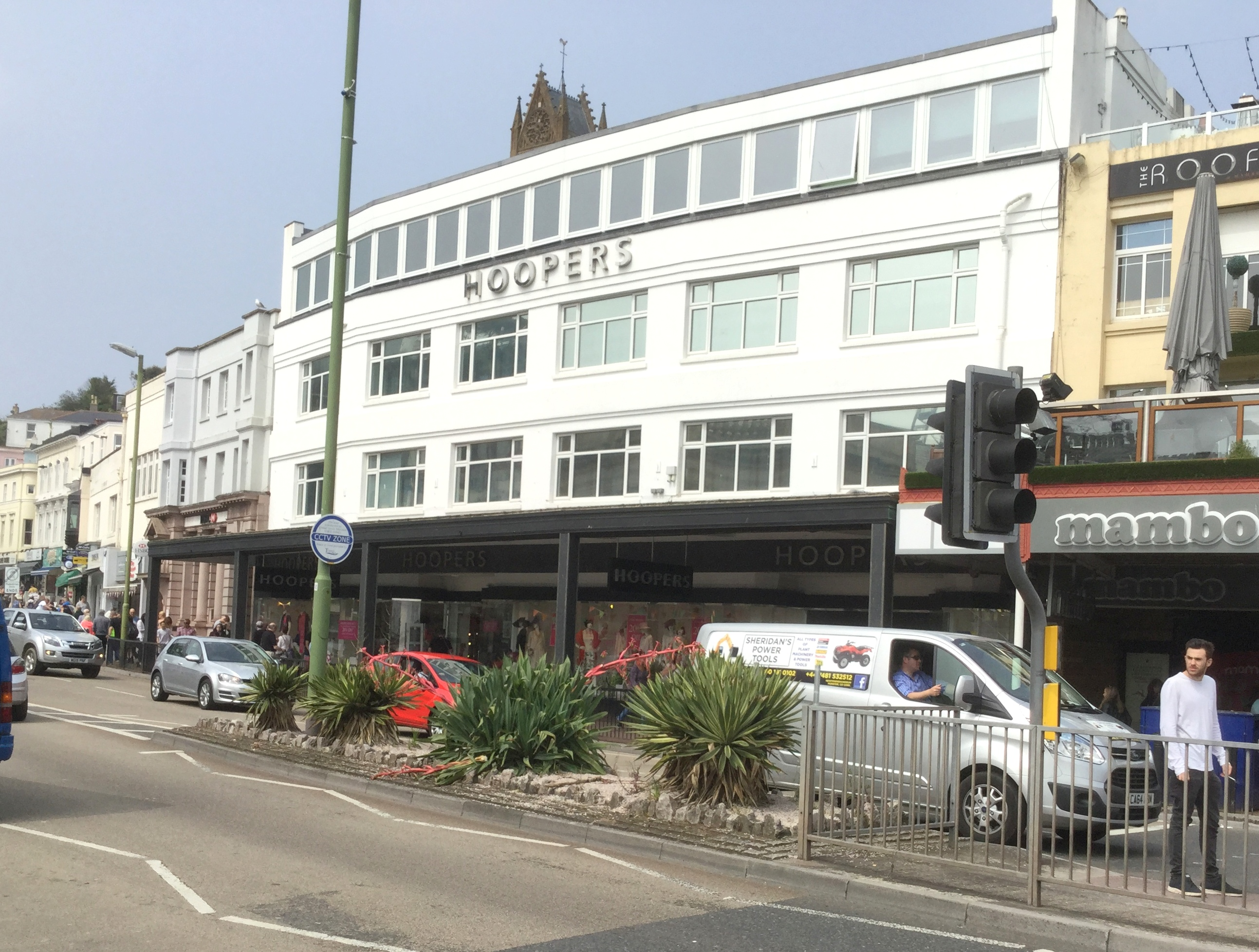 Hoopers Department Store on the harbourside of the south Devon town of Torquay
