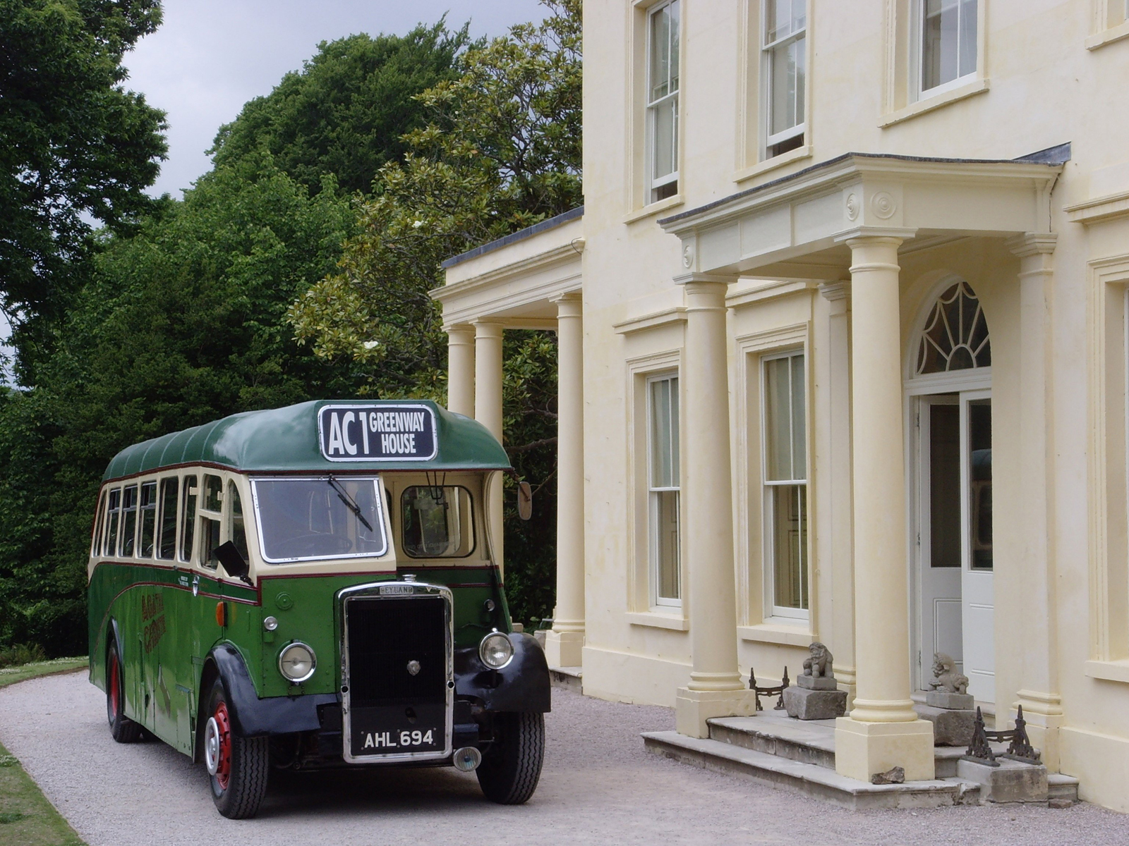 Greenway House, holiday home of Agatha Christie overlooking the River Dart