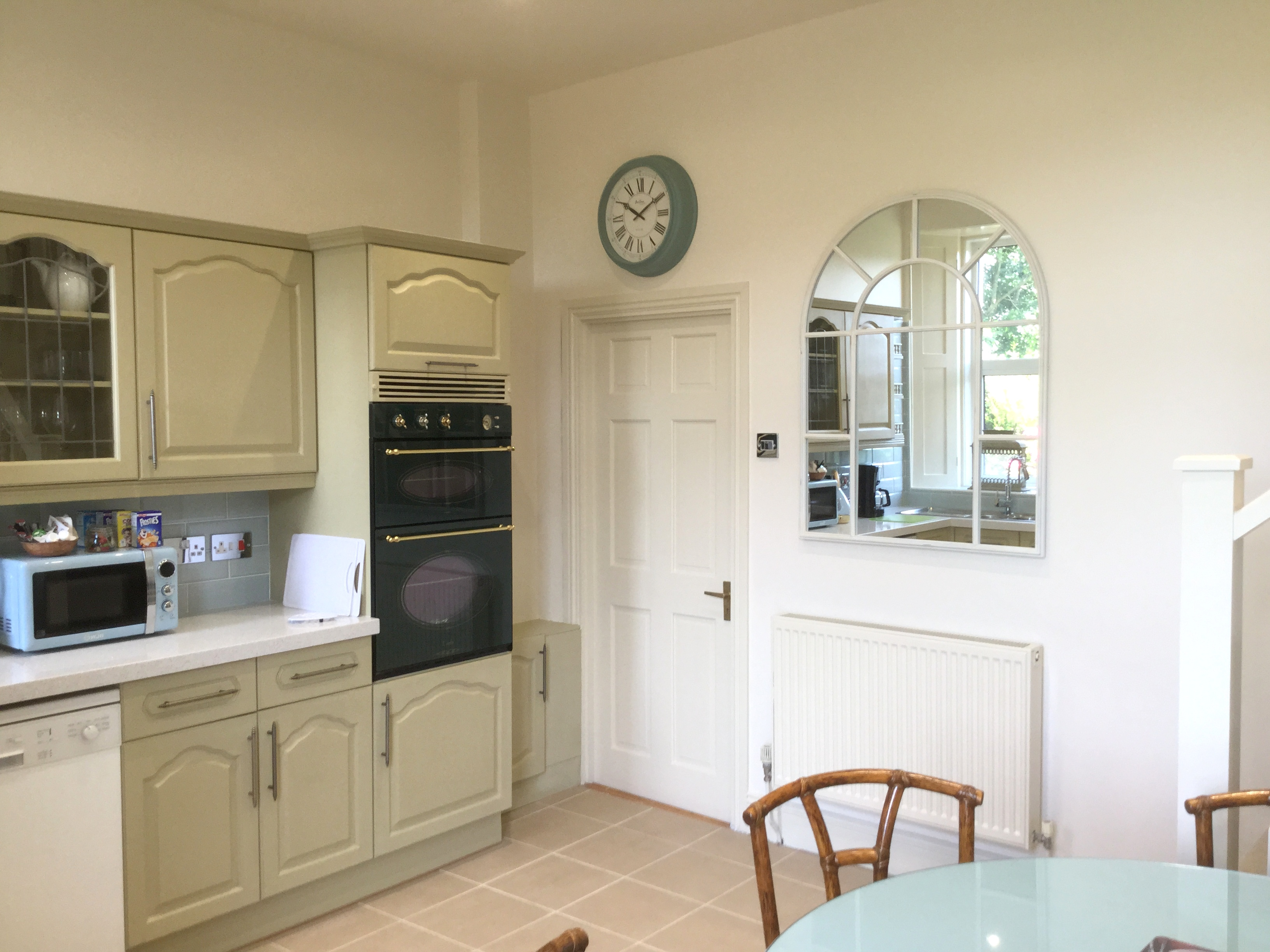 Kitchen in The Towhouse at The Muntham Apartments in Torquay