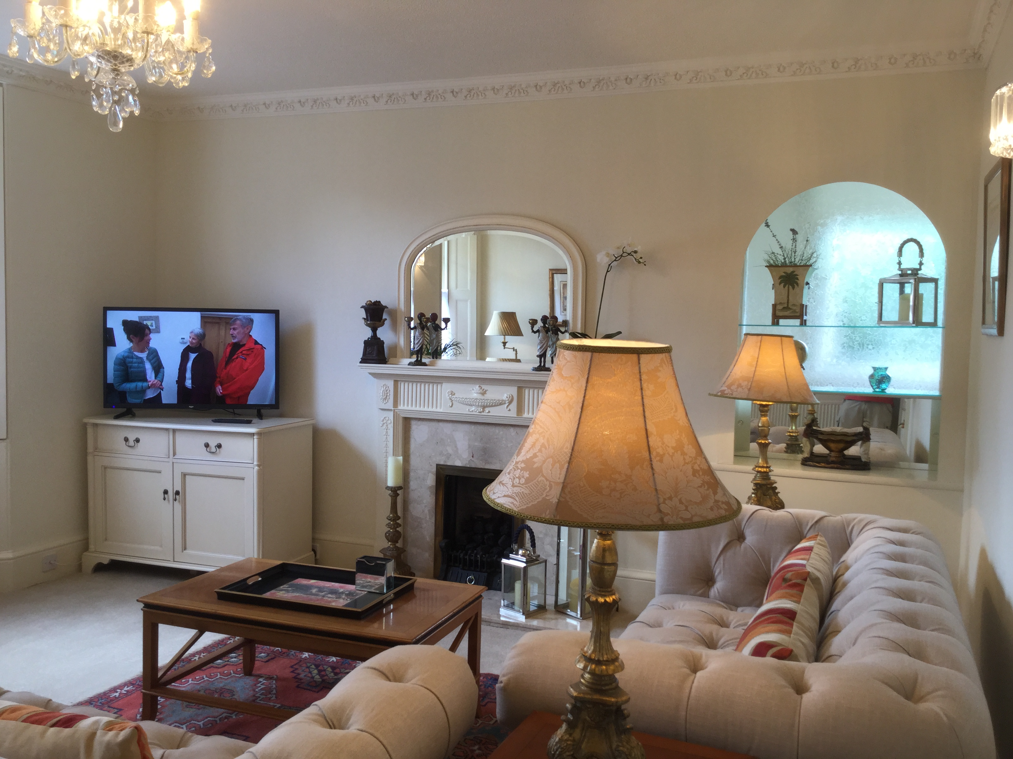 Sitting Room in The Townhouse at The Muntham Holiday Apartments in Torquay